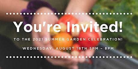2021 Summer Garden Celebration tickets