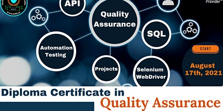 Diploma Certificate in Quality Assurance (40% discount on fees) tickets