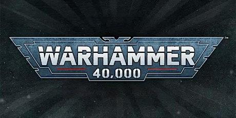 Warhammer 40K July RTT tickets