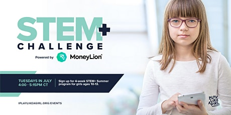 Play Like a Girl STEM+ Challenge powered by MoneyLion tickets