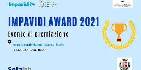 IMPAVIDI AWARD 2021 -Premiazione biglietti