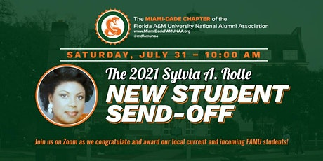 The  2021 Sylvia A. Rolle New Student Send Off tickets