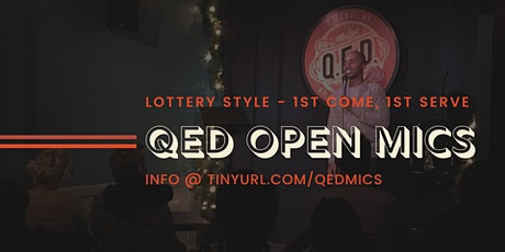 Creature Feature Open Mic at QED tickets