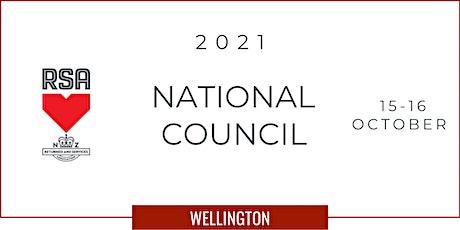 RSA National Council 2021 tickets