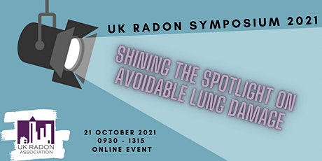 UK Radon Symposium 2021 tickets