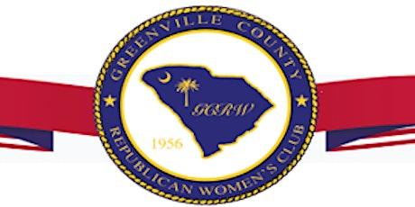 Greenville County Republican Women's Club Luncheon tickets