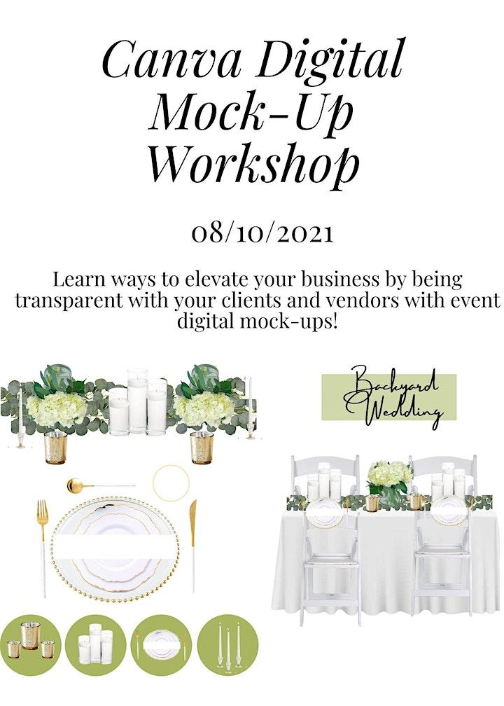 Canva Digital Mock- Up Workshop image