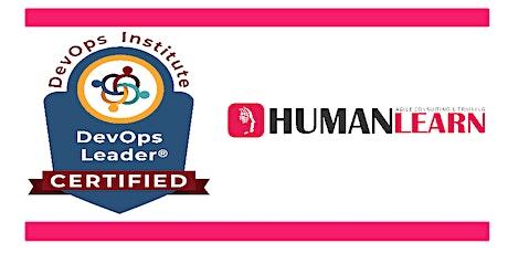 Formation Leader DevOps / DevOps Leader training tickets