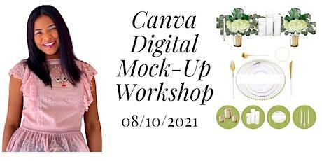 Canva Digital Mock- Up Workshop tickets
