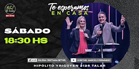 Reunión Presencial Iglesia Cristiana Bethel - Sábado 26 /06 - 18:30 hs entradas