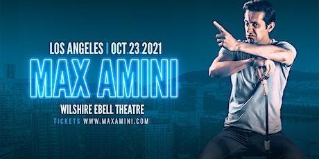 Max Amini Live in Los Angeles tickets