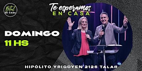 Reunión Presencial Iglesia Cristiana Bethel - Domingo 27 / 06 - 11:00 hs entradas