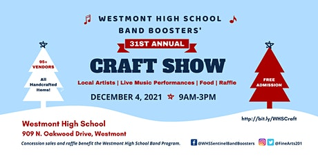 31st Annual Craft Show tickets