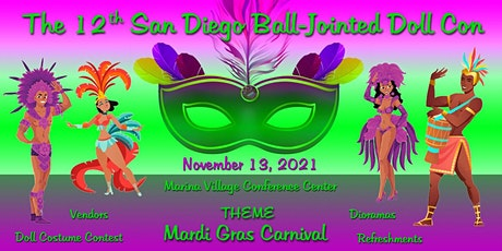 The 12th San Diego Ball-Jointed Doll Con tickets