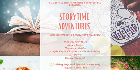 Storytime Adventures Book Club tickets