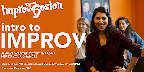 Intro to Improv!  Saturdays 2:30 - 4:00PM tickets