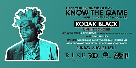 Kodak Black (LIVE) & Know The Game Music Conference tickets