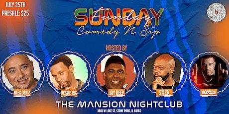 SUNDAYFUNDAY'Comedy N Sip tickets