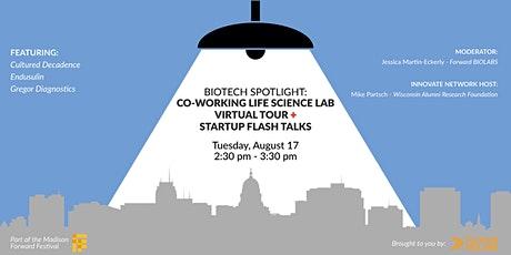 Biotech Spotlight: Forward BIOLABS Virtual Tour & Startup Flash Talks tickets