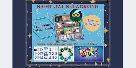 NIGHT OWL NETWORKING tickets