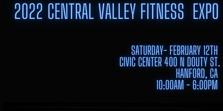 Central Valley Fitness Expo 2022 tickets