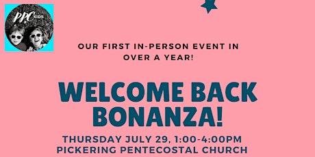 PPCKIDS WELCOME BACK BONANZA! tickets