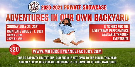 MCDF Showcase Adventures in Our Own Backyard tickets