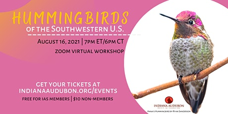 Hummingbirds of the Southwestern US tickets