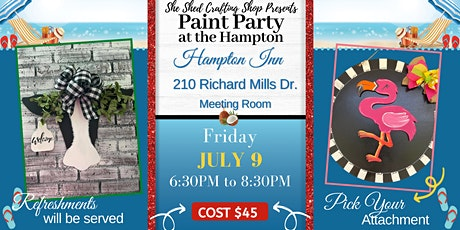 Paint Party at the Hampton tickets
