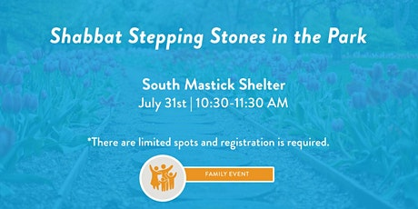 Shabbat Stepping Stones in the Park- Rocky River Reservation tickets