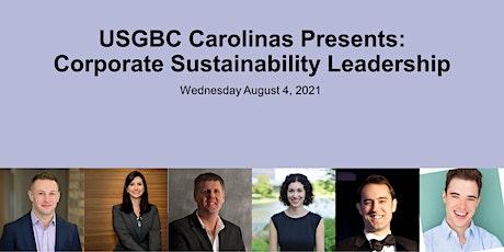 USGBC Carolinas Present: Corporate Sustainability Leadership tickets