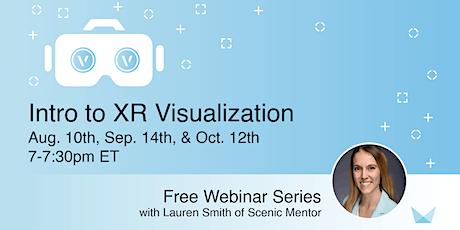 Intro to XR Visualization FREE Webinar tickets