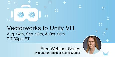 Vectorworks to Unity VR FREE Webinar tickets