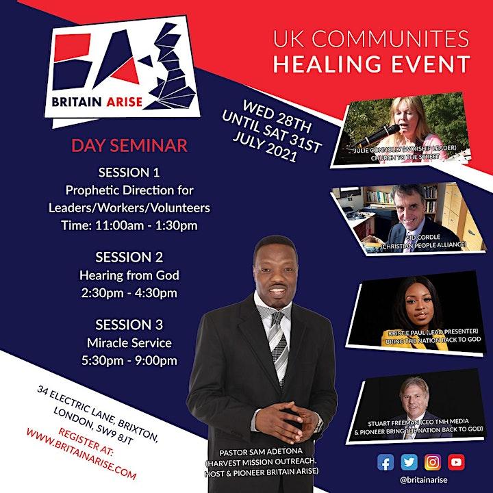UK COMMUNITIES HEALING EVENT image
