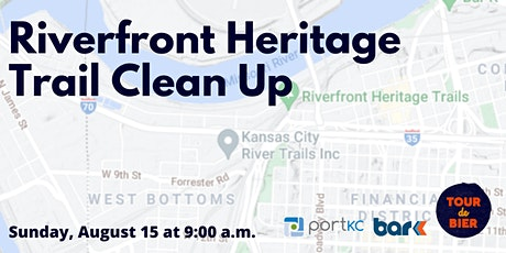 Riverfront Heritage Trail Clean Up tickets