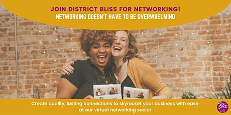 August Virtual Networking Social | Create Authentic, Lasting Connections tickets