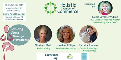 Community Education Panel ~ Reducing Stress Through Movements tickets