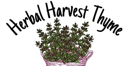2021 Herbal Harvest Thyme - Vendor Registration tickets