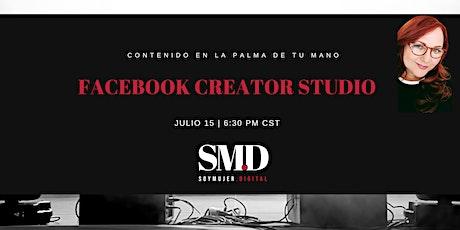 Aprende a usar el Creator Studio  y Publica En Facebook e Instagram. boletos
