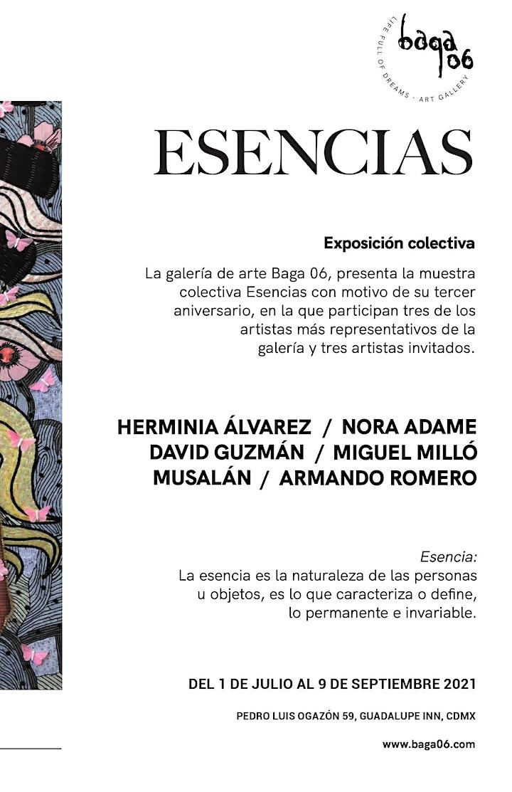 Exposición colectiva Esencias image