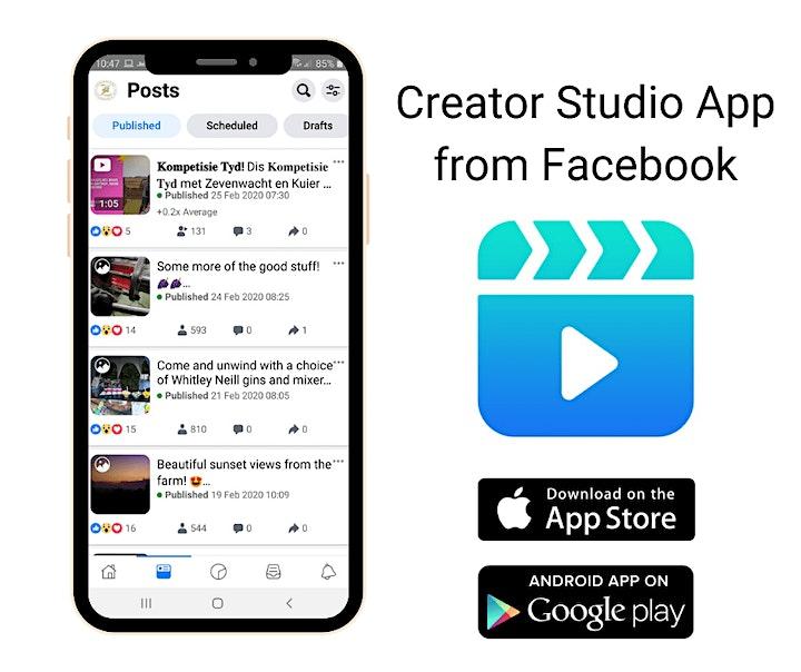 Imagen de Aprende a usar el Creator Studio  y Publica En Facebook e Instagram.
