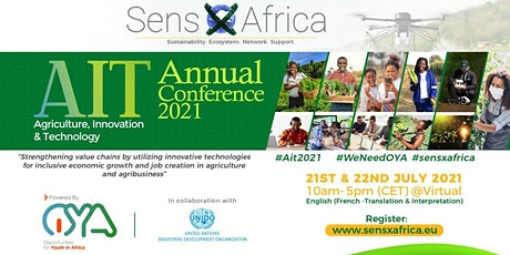 Agriculture, Innovation & Technology Conference - AIT2021 tickets
