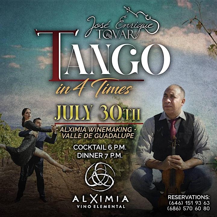 Imagen de TANGO & VINO * FOOD - WINES AND MUSIC