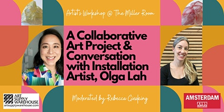 Artist's Workshop - A Collaborative Art Project & Conversation w/ Olga Lah tickets