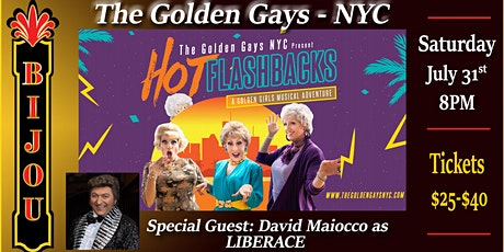 The Golden Gays NYC - W/ Special Guest David Maiocco as Liberace tickets