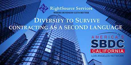 Contracting as a Second Language - Diversify to Survive tickets