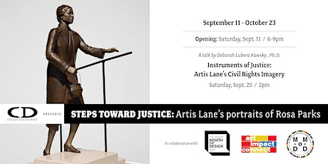 Opening -- Steps toward Justice: Artis Lane's Portraits of Rosa Parks tickets