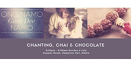 Chanting Chai & Chocolate tickets
