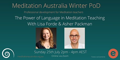 The Power of Language in Meditation Teaching  PoD tickets