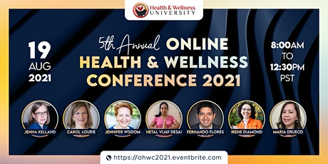5th Annual Online Health and Wellness Conference tickets